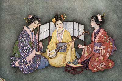 Racial, Japan, 3 Women