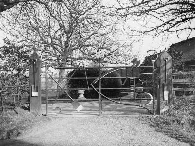 Unusual Farmyard Gate