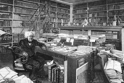 Chevreul, in His Study