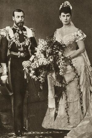 Duke and Duchess of York's Wedding Day
