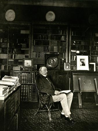 Gladstone in Library