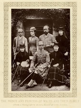 Edward VII, Family C.1883