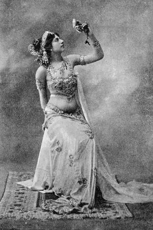 Mata Hari Dancing at Olympia