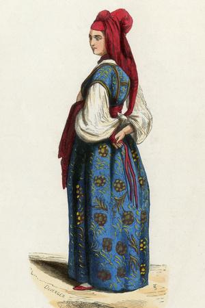 Racial, Jewish Woman 1840