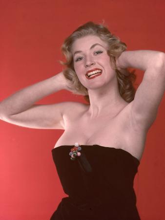 Blonde Bombshell 1950s