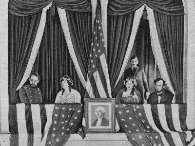John Wilkes Booth Enters Lincoln's Box