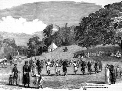 The Coorg Harvest Festival, Madras, 1852