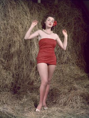 Hibiscus Girl 1950S 4, 4