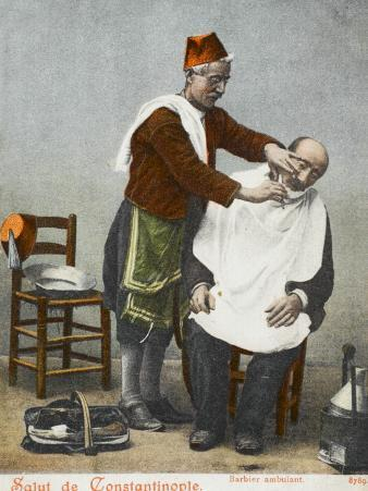 Travelling Barber - Turkey