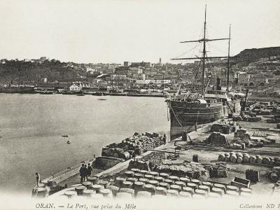 The Port at Oran, Algeria Close to the Harbour Mole
