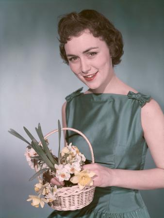 Woman with Daffodils