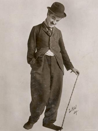 Charlie Chaplin (Sir Charles Spencer) English Comedian and Actor