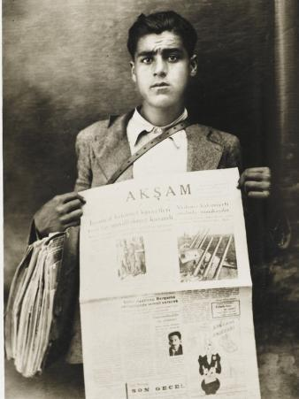 Turkish Newspaper Boy