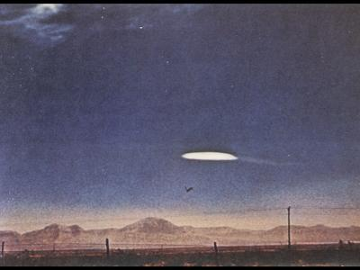 UFO Near Holloman Air Force Base, New Mexico
