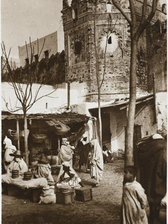 Tetouan, Morocco - Corner of the Covered Market