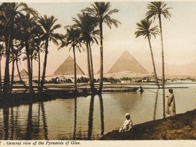 The Pyramids at Giza, Cairo, Egypt