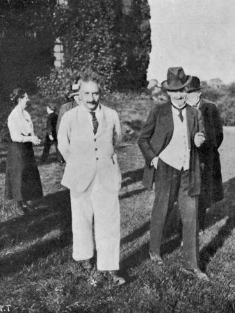 Albert Einstein Scientist in a White Suit
