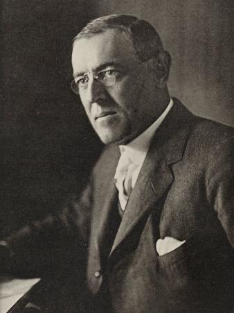 Woodrow Wilson American President and Nobel Prizewinner in 1919