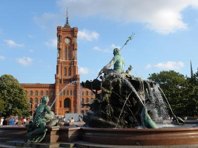The Red Town Hall (Rotes Rathaus), Berlin, Germany
