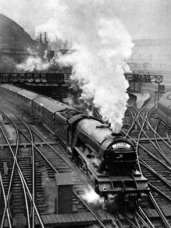 The Flying Scotsman, Pulling Out of Kings Cross