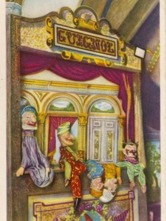 Tournai, Belgium Traditional Guignol De La Maison Tournaisienne (Puppet Theatre)
