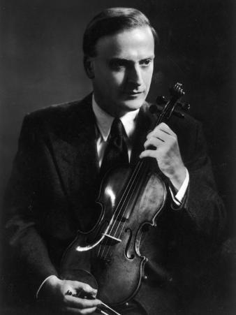 Yehudi Menuhin Violinist as a Young Man
