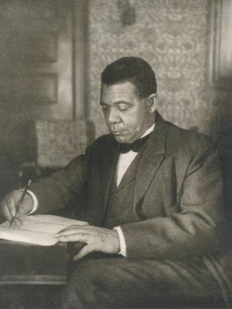 Booker T Washington American Educator Born a Slave
