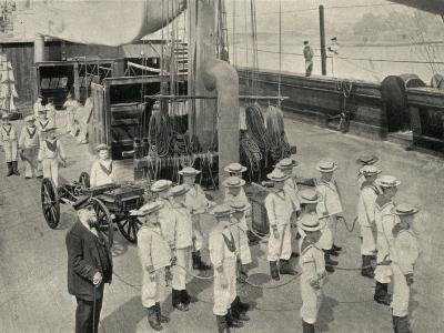 Training Ship Exmouth, Gun Crew