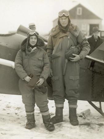 Lindberghs at New York