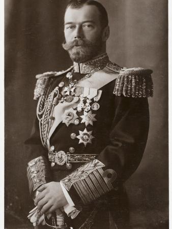 Tsar Nicholas II (Nikolay Alexandrovich Romanov), the Last Emperor of Russia
