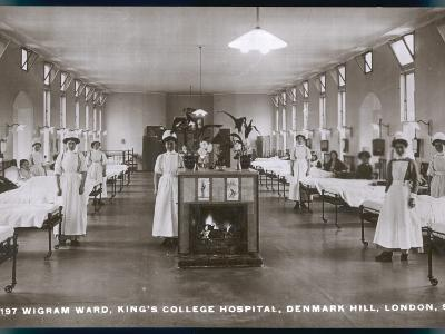 Wigram Ward of King's College Hospital, Denmark Hill, S.E. London
