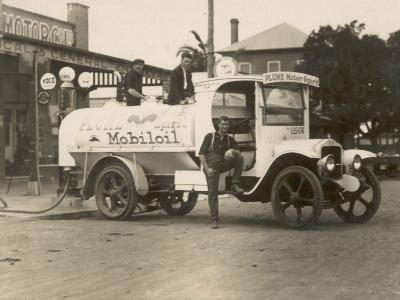 Vintage Petrol Tanker in New South Wales, Australia
