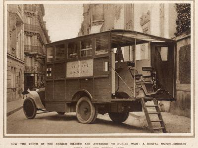A Mobile Dental Surgery, Belonging to the French Army