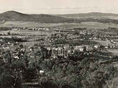 Canberra from Red Hill, Act, Australia