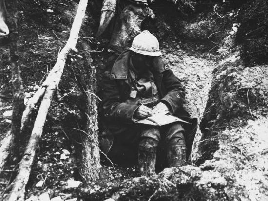 Battle Of Verdun 1916 Photographic Print By Robert Hunt At