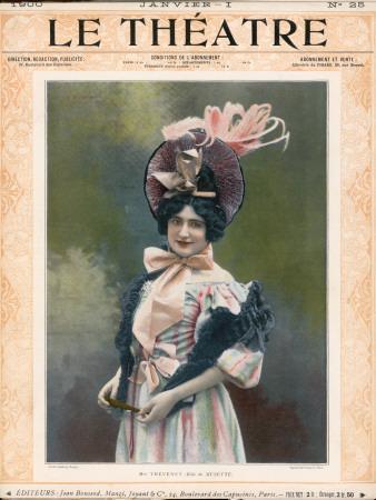 Cecile Thevenet Mezzo-Soprano, Seen Here in the Role of Musette in Leoncavallo's 'La Boheme'
