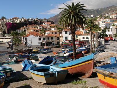Fishing Boats at Camara De Lobos, Madeira