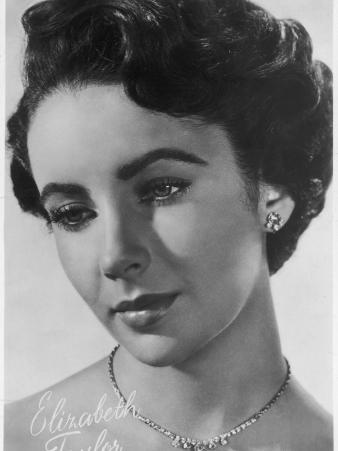 Elizabeth Taylor British-Born Actress, Star of Numerous American Films
