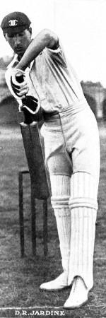 Douglas Jardine Batting for Oxford University, 1923