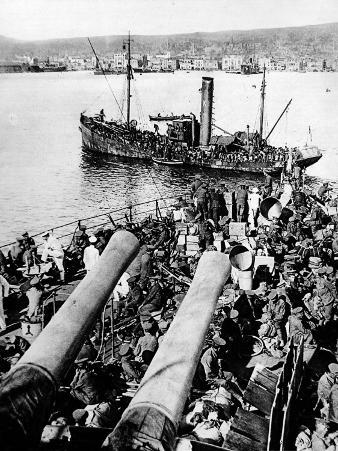 British Landing at Salonika