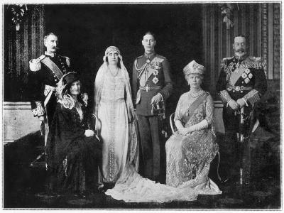 George VI Weds Elizabeth