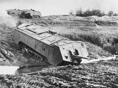 French Tank WWI