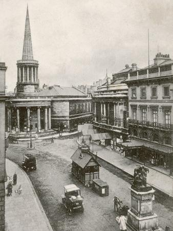 All Souls Church and Queen's Hall, Langham Place, London, England