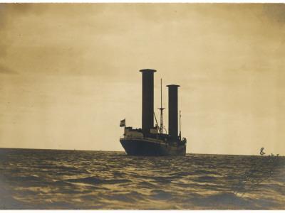 Flettner's Rotor Ship