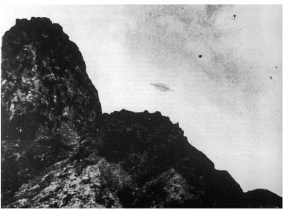 Flying Saucer Photographed over Trindade Island, Brazil