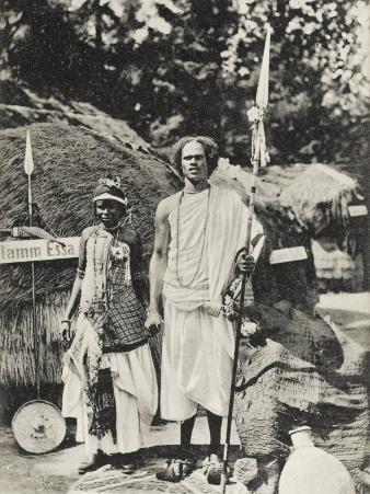 Ethiopia - Emperor Menelik's Bodyguard - Seemingly at an International Exhibition (!)