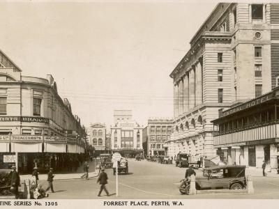 Forrest Place, Perth, Western Australia, 1910