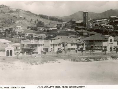 Coolangatta Queensland from Greenmount, Australia