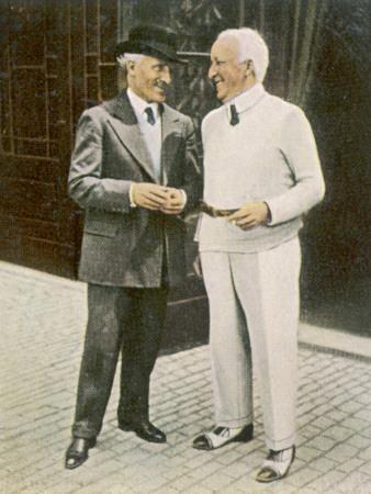 Siegfried Wagner with Toscanini