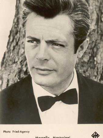 Marcello Mastroianni Italian Film Actor